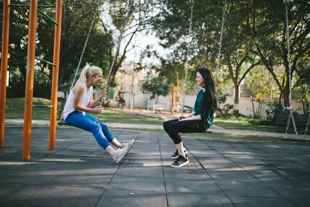 swinging help with weight loss