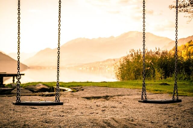 The best time to hang a swing